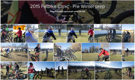 Fat Bike Skills Clinic 8 Nov 2015 - Pic 1