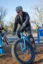 Fat Bike Skills Clinic 8 Nov 2015 - Pic 11