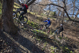 Fat Bike Skills Clinic 8 Nov 2015 - Pic 12