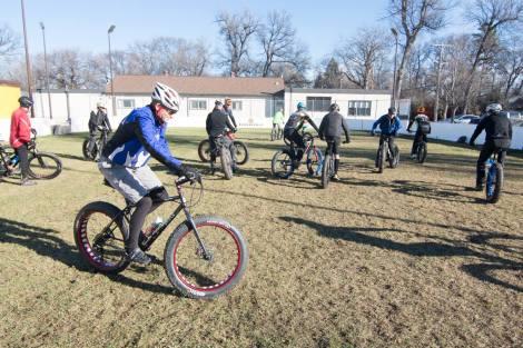 Fat Bike Skills Clinic 8 Nov 2015 - Pic 3