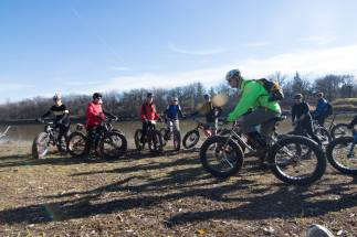 Fat Bike Skills Clinic 8 Nov 2015 - Pic 9