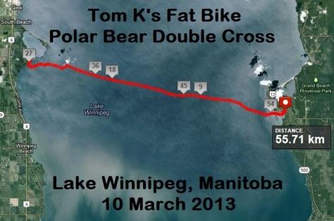 Tom's Polar Bear Double Cross Map