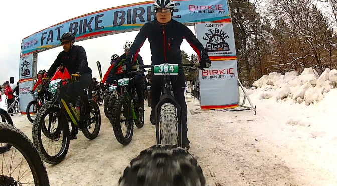 2016 Fat Bike Birkie – Fun with over 1000 Fatties!