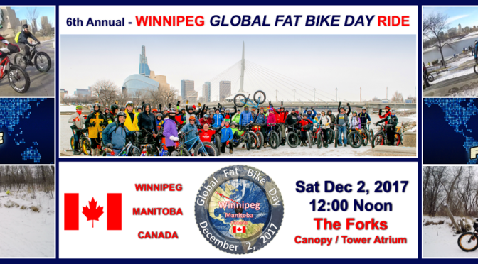 Winnipeg GFBD Ride Route Recce – It's looking great – GIDDY UP!