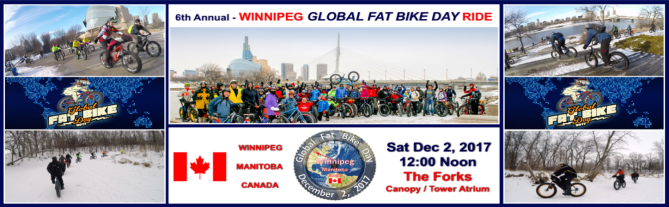 Winnipeg GFBD Ride – Route Maps and Weather Factors