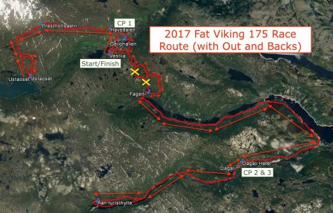 2017 Fat Viking 175 - Maps View