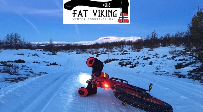 Fat Viking 175 Winter Endurance Race:  Fat Tom K finishes (just)!
