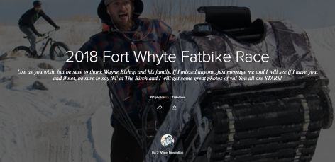 2018 Fort Whyte Fatbike Race - Pictures Flickr Banner