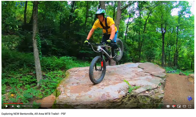 Fat Video Time:  Expert Fatbiker Shreds MTB Trail