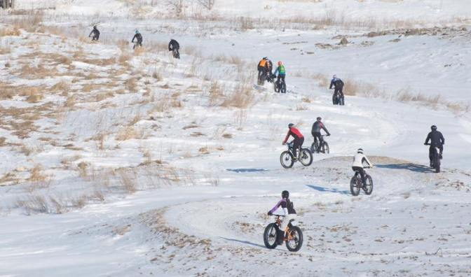 2WR Club Fatbike Ride at Bison Butte – Picture Perfect