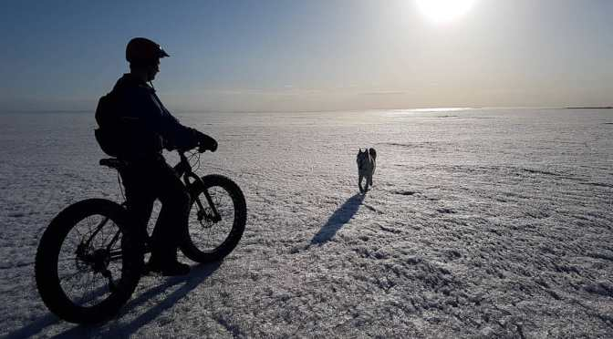 Fat Photo of the Month: Rider and his Dog