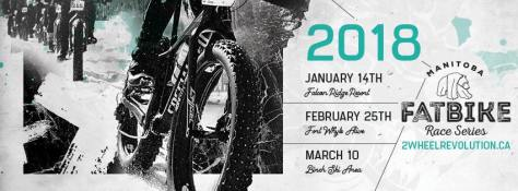 MB Fat Bike Race Series 2018 Banner