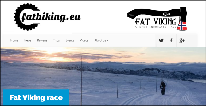 Honourary MB Fatbiker Nina Gassler's Fat Viking Race Report:  Fatbiking.eu