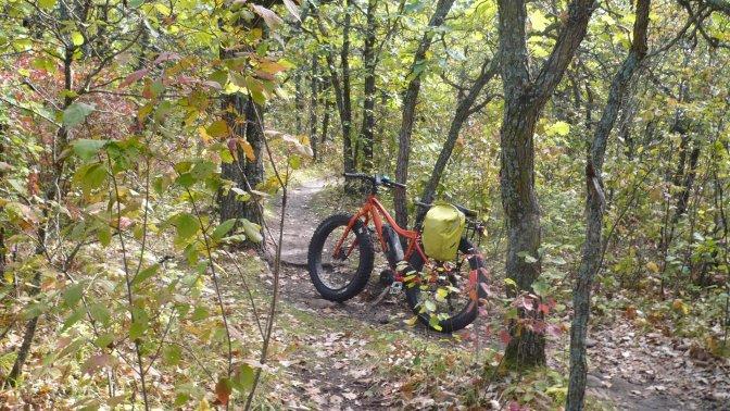Fatbiking at BHPP on the Oak Ridge Trail