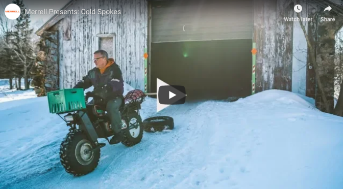 "Fat Video Time:  ""Cold Spokes"" – Volunteer Fatbike Trail Grooming"