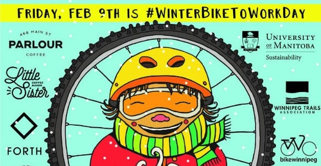 Winter Bike To Work Day: Friday 9 Feb 2018 … let's roll fatties!