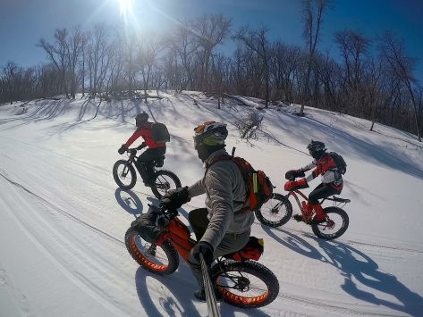 1Mar 16 - Fat Bike on La Salle - D,D&T 3