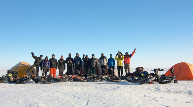 "The 'Fatty – Not So Frozen – Dozen' Rocked the ""2017 Lake Winnipeg Fatbike Crossing & Campover"""