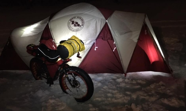 Fat Tom K's 6-Person Tent on Red River