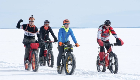Gregory's Polar Bear Crossing 2016 Pics 3