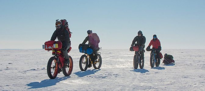 Fatbike 'Loaded Rigs' Ready for Lake Winnipeg Adventures