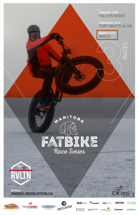 MB FatBike Race Series 2017 Poster - Birch Update