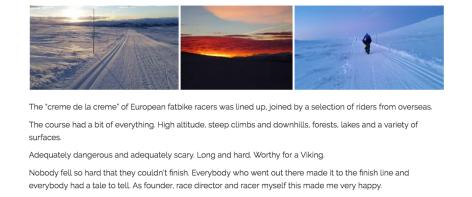 Nina Gassler's FV175 Race Report - fatbiking.eu - 3