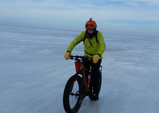 Lake Winnipeg Polar BearRun/Bike Crossing: An Icy Treat