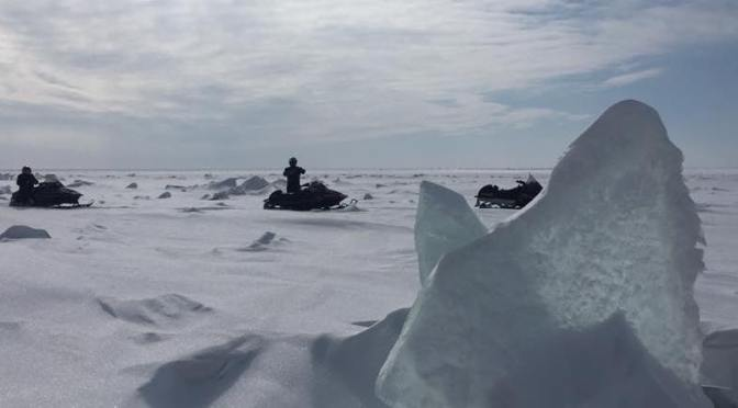 Recce Report:  Conditions look great for our upcoming Lake Winnipeg Fatbike Adventures