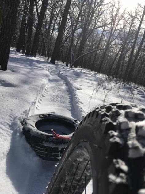 st Norbert Trail Loop - 6 Feb 2017 - Marty Roy - 1
