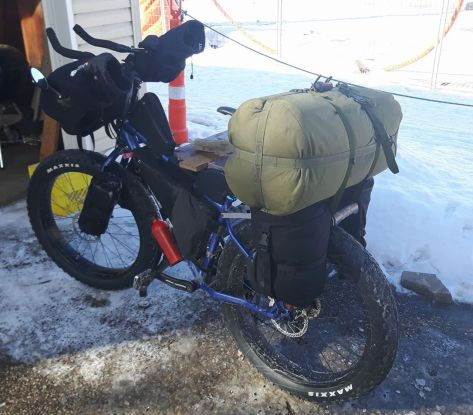 Steven Sloat's Fat Bike Rig
