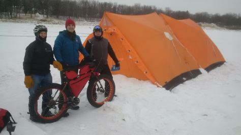 Tent City Camp Site on Red River 10