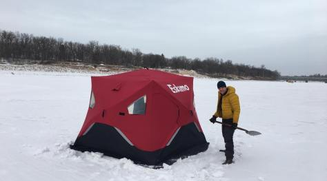 Tent City Camp Site on Red River 11