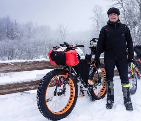 Thomas Woods' Fat Bike Rig