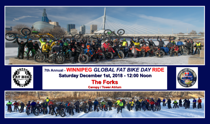 7th Annual Winnipeg GFBD Ride – Sat Dec 1st 2018:  It's going to be a Huge Blast!