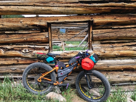 Fat-Bike.com WP Pic 25 Jul 2018 - Loaded Bike