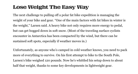 Fatbiking Antarctica - Eric Larson Bucycling Article - 4