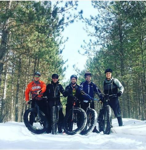 Sandilands Winter Trail Ride 8 Apr 2018 - Blind Creek Bike Club