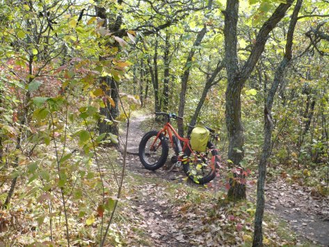 Oak Ridge Trail Fatbike 25 Sep 2018 - 1